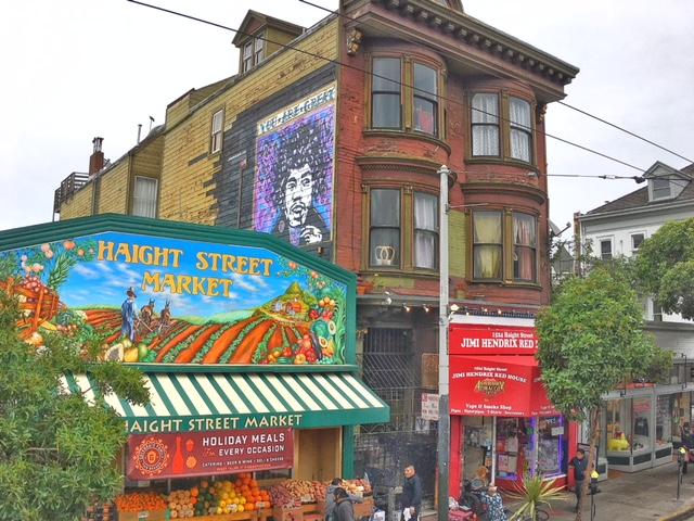 Haight-Ashbury hippy San Francisco