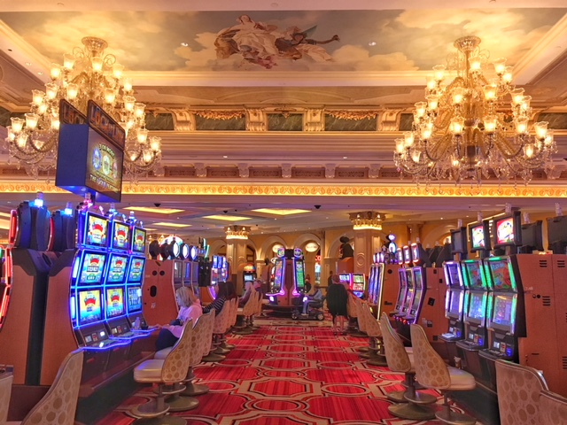 Slot machines Hotel Venetian