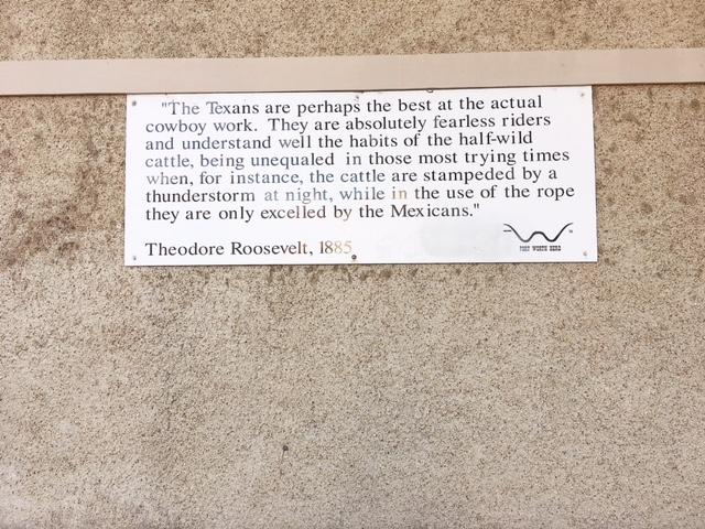 Citazione Roosevelt Fort Worth