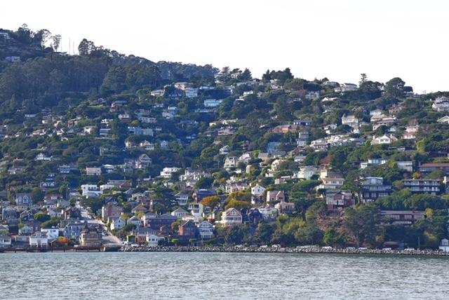 Vista su Sausalito San Francisco