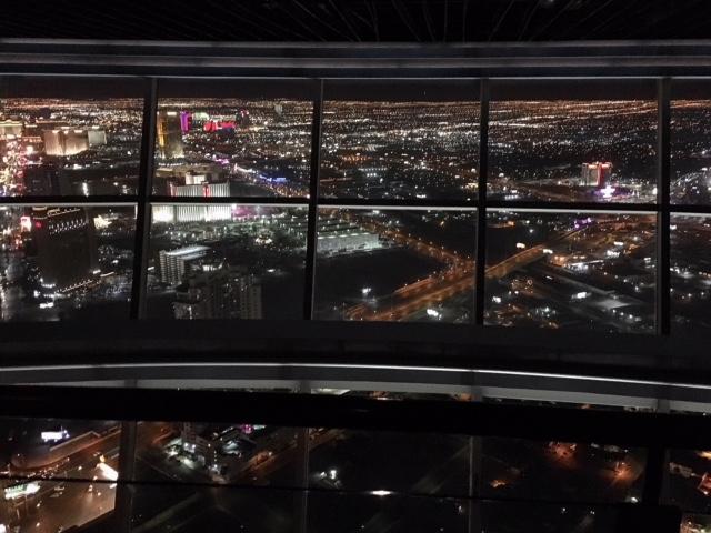 Vista Las Vegas dallo Stratosphere