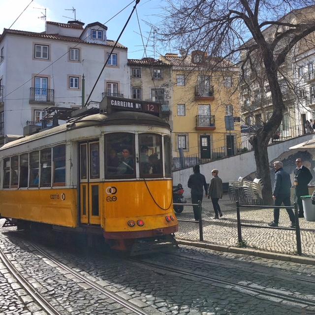 Tram storico Lisbona