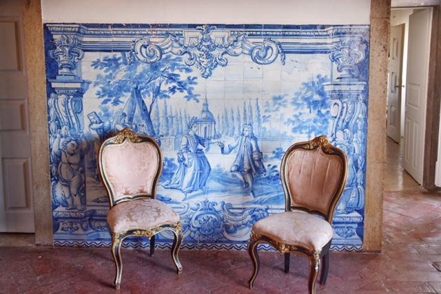Azulejos Palacio Belmonte