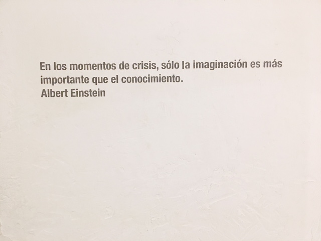 Citazione Einstein Fabrica de Arte Cubano