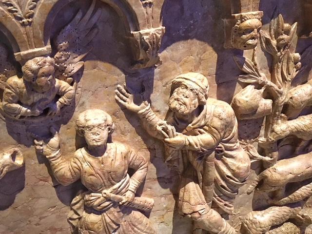Battistero Cattedrale Verona dettagli