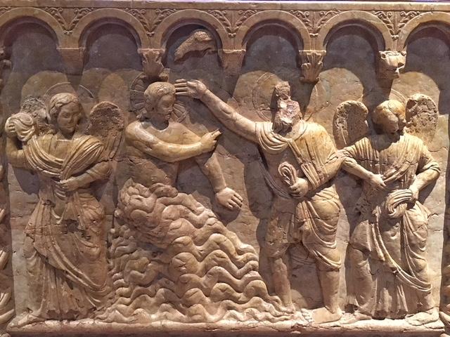 Battistero Cattedrale Verona bassorilievi