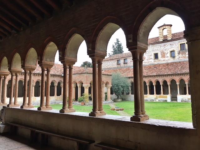 Chiostro Basilica di San Zeno Verona