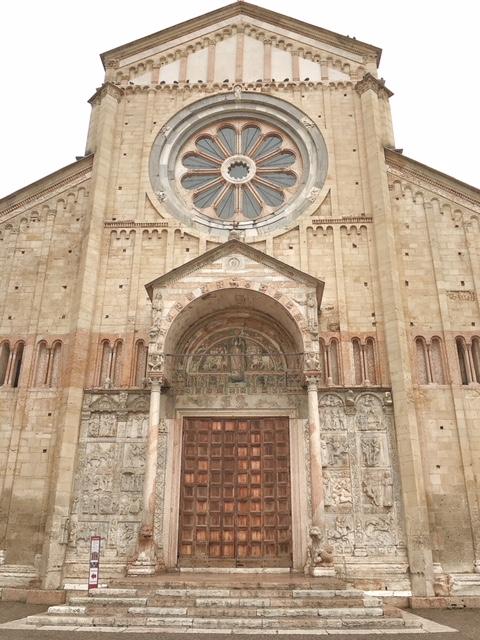 Basilica di San Zeno Verona facciata