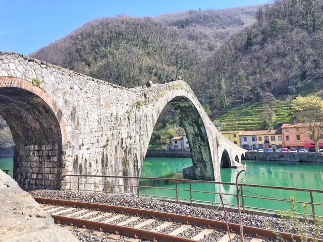 Ponte del diavolo ferrovia