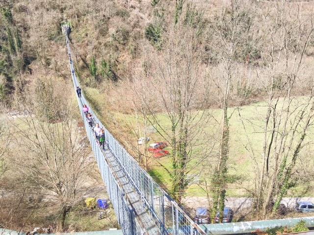 ponte sospeso delle ferriere