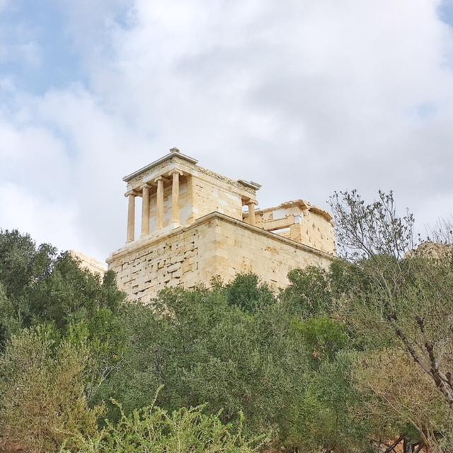 Tempio Atena Nike Acropoli Atene