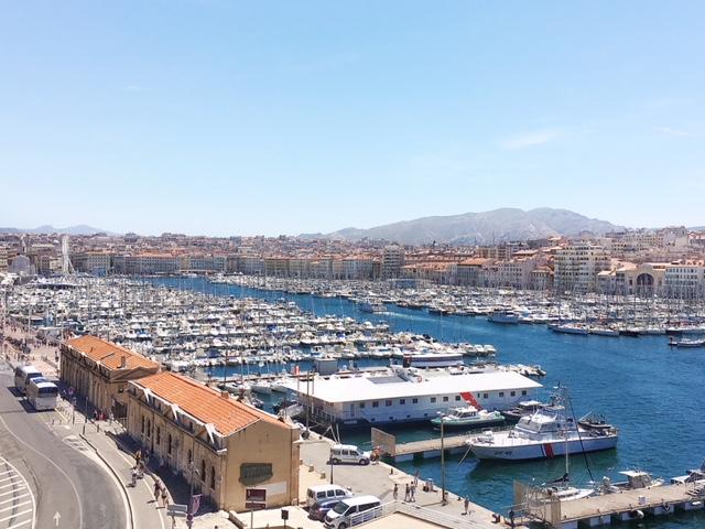 Vista porto Fort Saint Jean Marsiglia