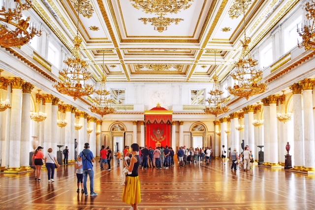 Il Salone di San Giorgio all'Hermitage