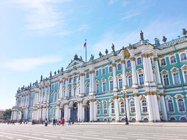 Hermitage esterno San Pietroburgo