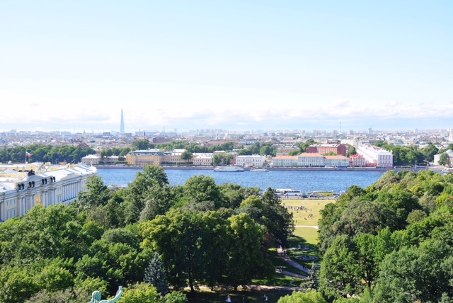 Vista su San Pietroburgo da Sant'Isacco