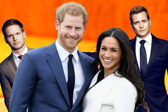 Principe Henry Meghan Markle Suits