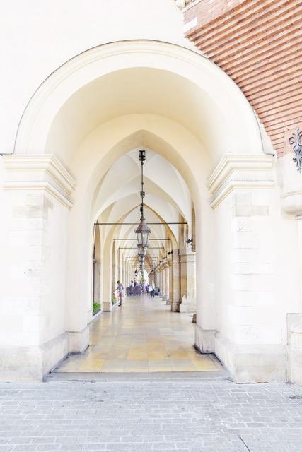 Sukiennice, l'edificio dell'ex Mercato dei Tessuti di Cracovia