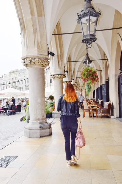 I portici di Sukiennice, ex Mercato dei Tessuti a Cracovia