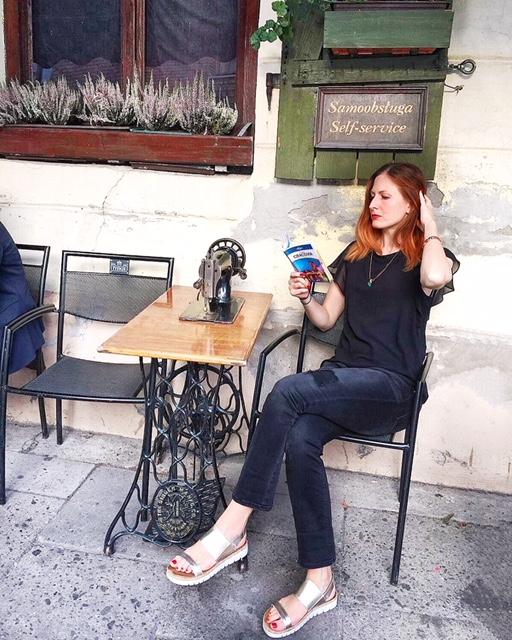 Singer Cafè Kazimierz Cracovia