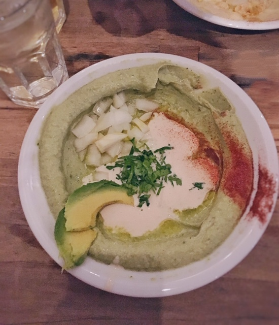 Hummus avocado Hummus & Friends Berlino