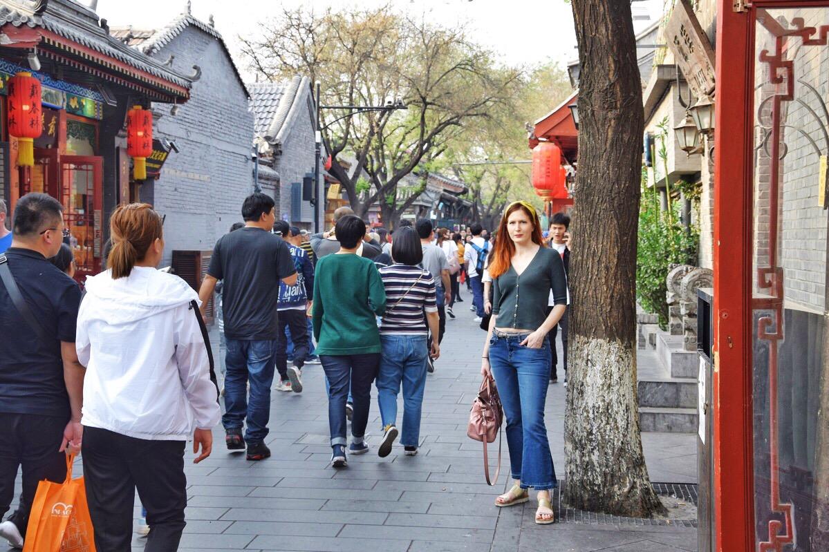 Negli hutong di Beijing