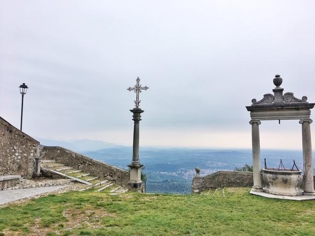 Punto panoramico dal Santuario di Santa Maria del Monte
