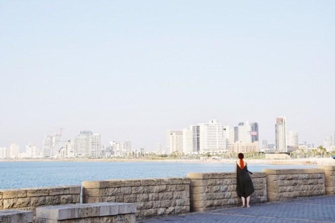 Vista su Tel Aviv Città Bianca