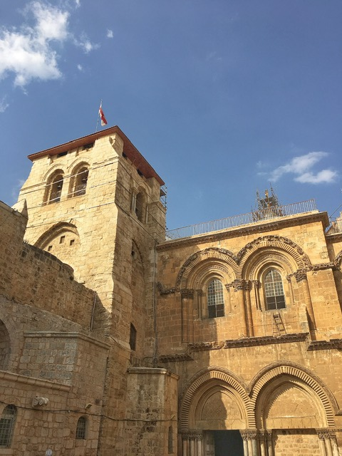 Esterno Chiesa del Santo Sepolcro