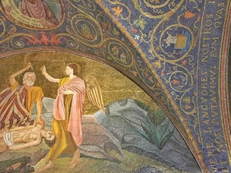 Dettaglio interno Chiesa del Santo Sepolcro