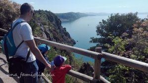 sentiero Rilke - una famiglia blu
