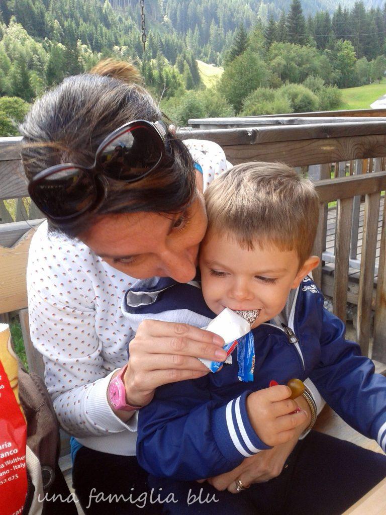 ciclabile san candido lienz con bambini