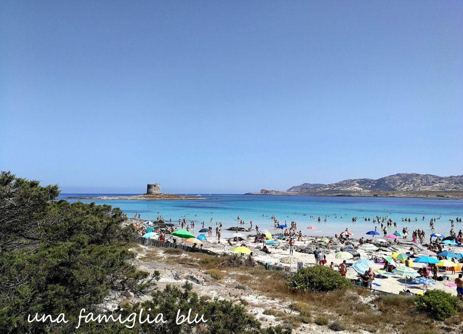 panorama spiaggia La Pelosa Stintino