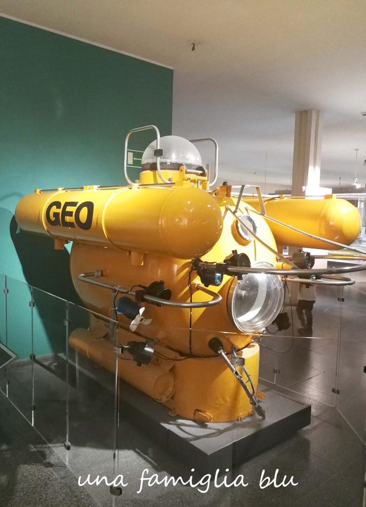 sottomarino giallo al deutsches museum