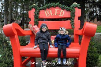 bambini al lago di bled