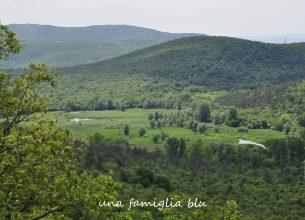 lago di doberdò visto dal sentiero cai 78