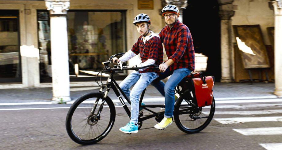 in giro con il tandem ol3 bike