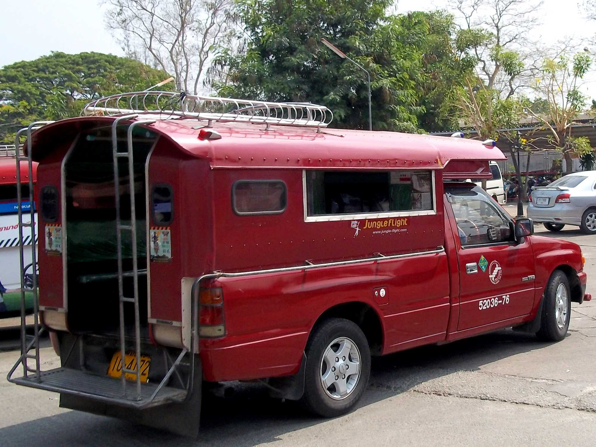 What are the local transport options in SE Asia?