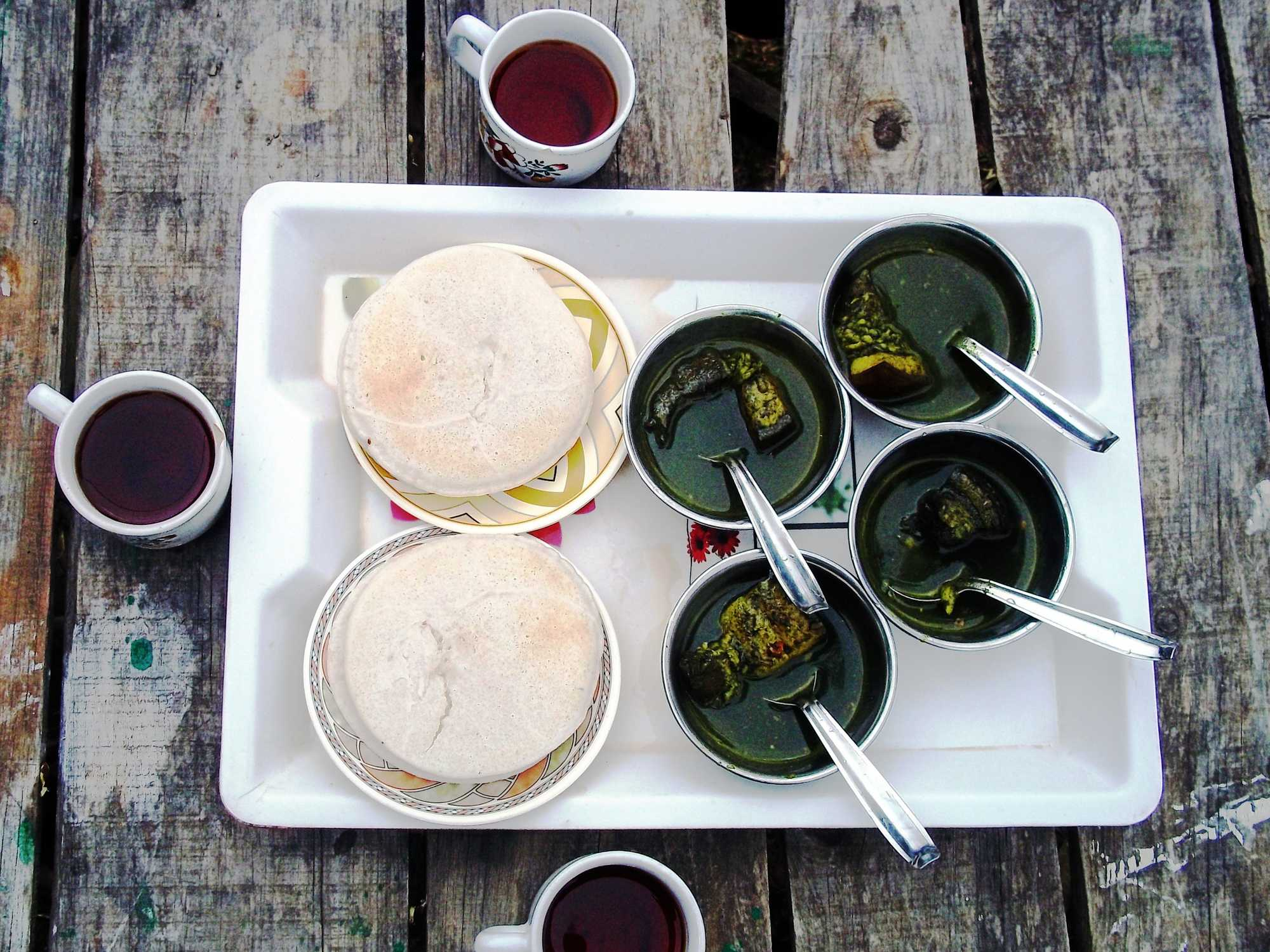 What is a must try pork delicacy from Meghalaya, northeast India?