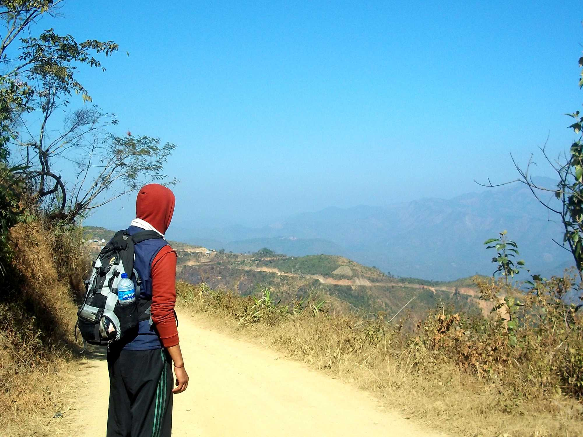 How to dress when hiking in Mizoram, northeast India?