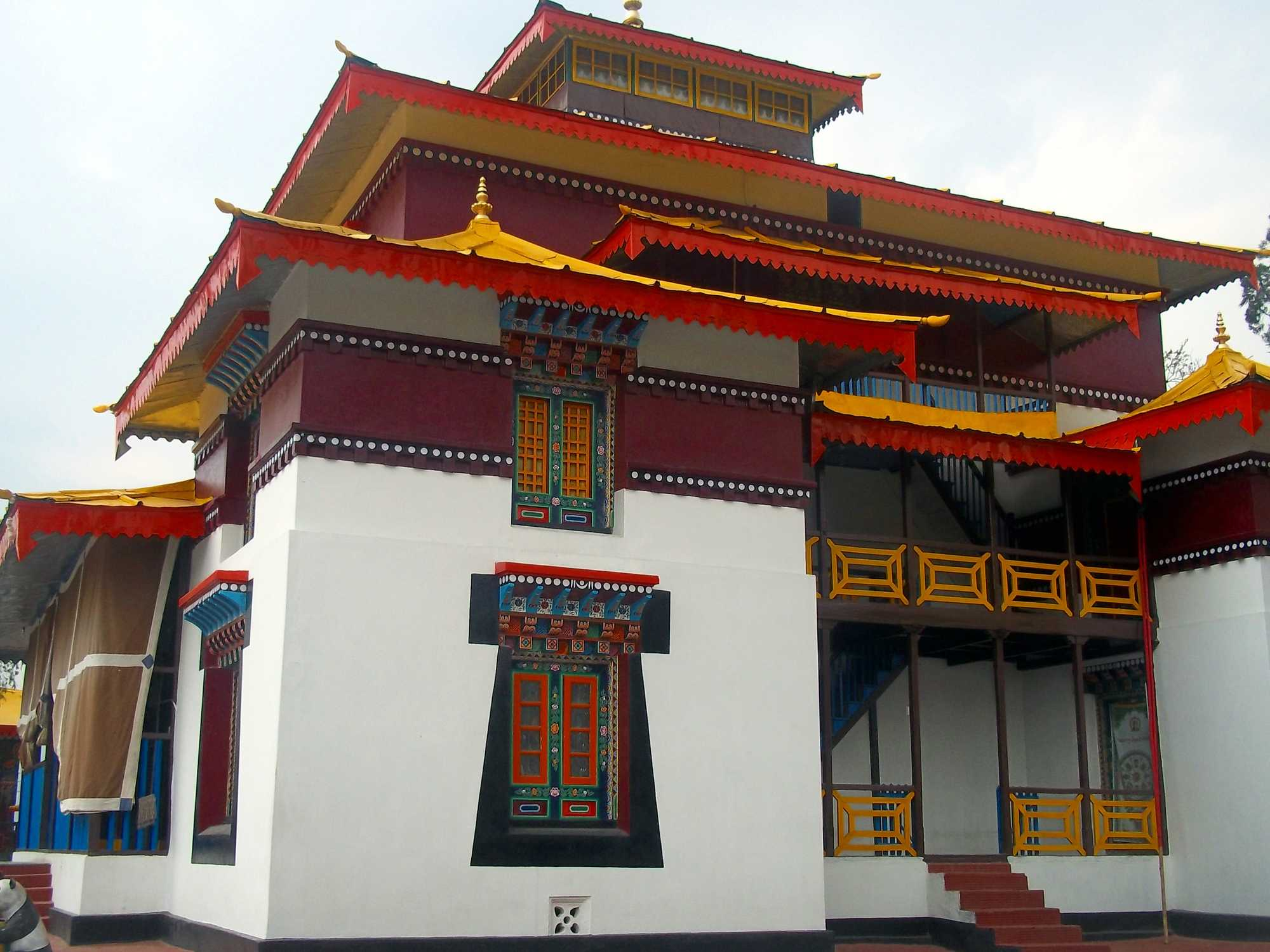 What are some quick facts about Enchey Monsatery in Sikkim, northeast India?