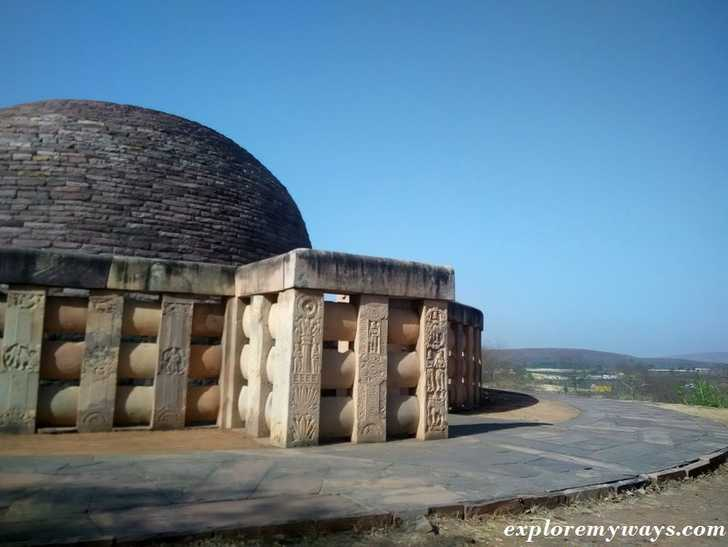 Where to stay when backpacking Sanchi, India?