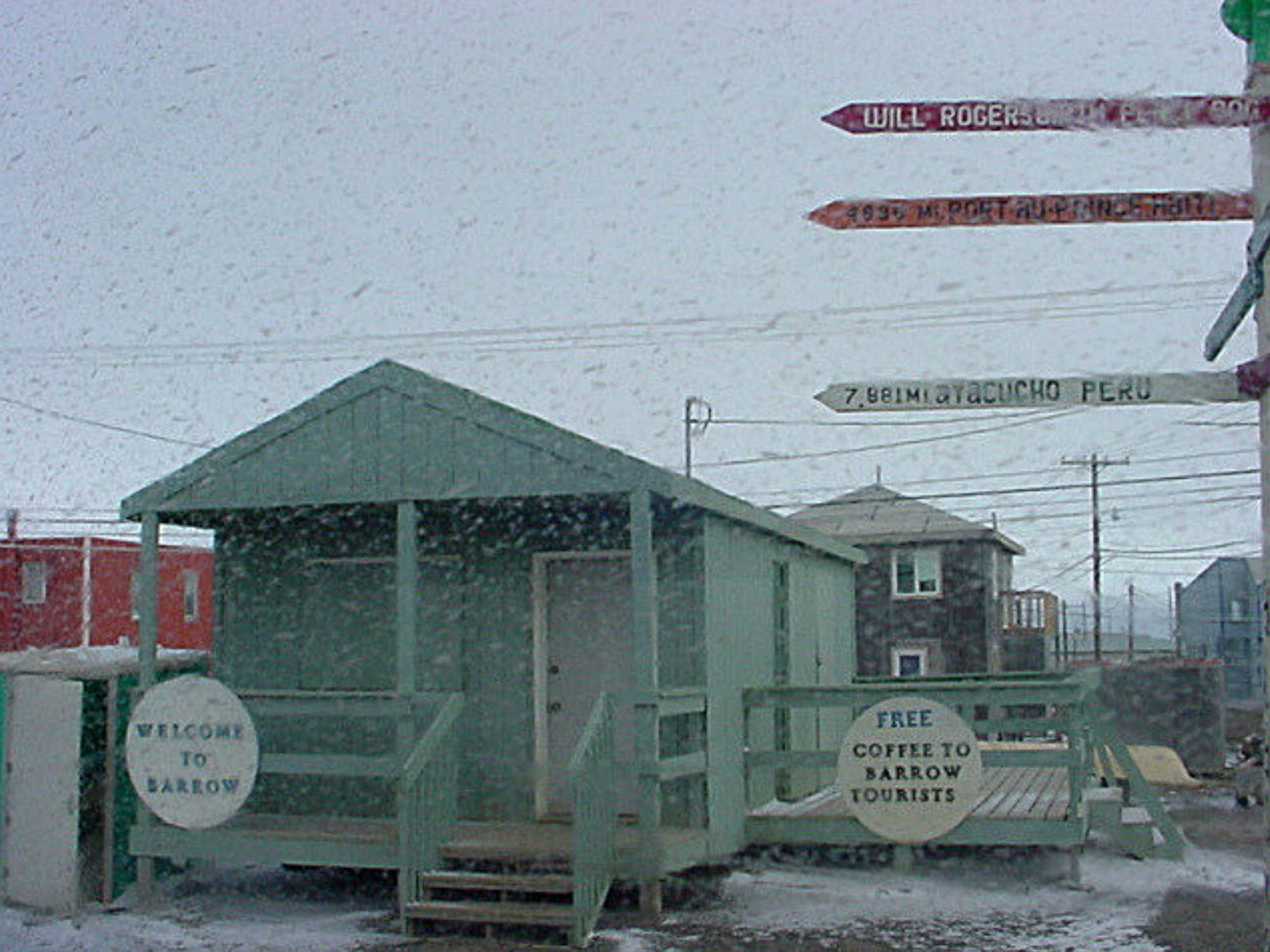 Where to find local guidance while in Barrow, Alaska?