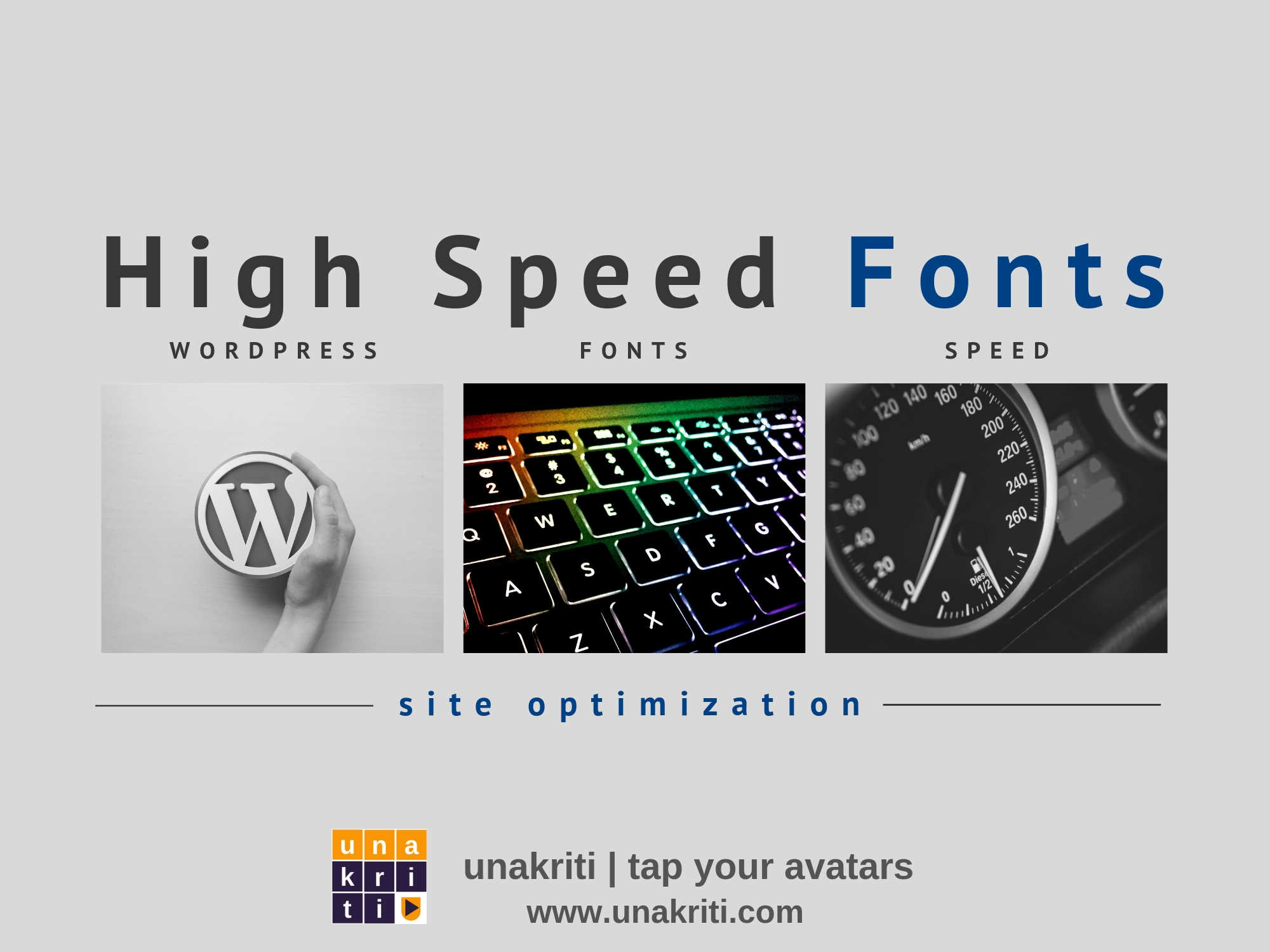 How to speed-up your website with the web safe font?