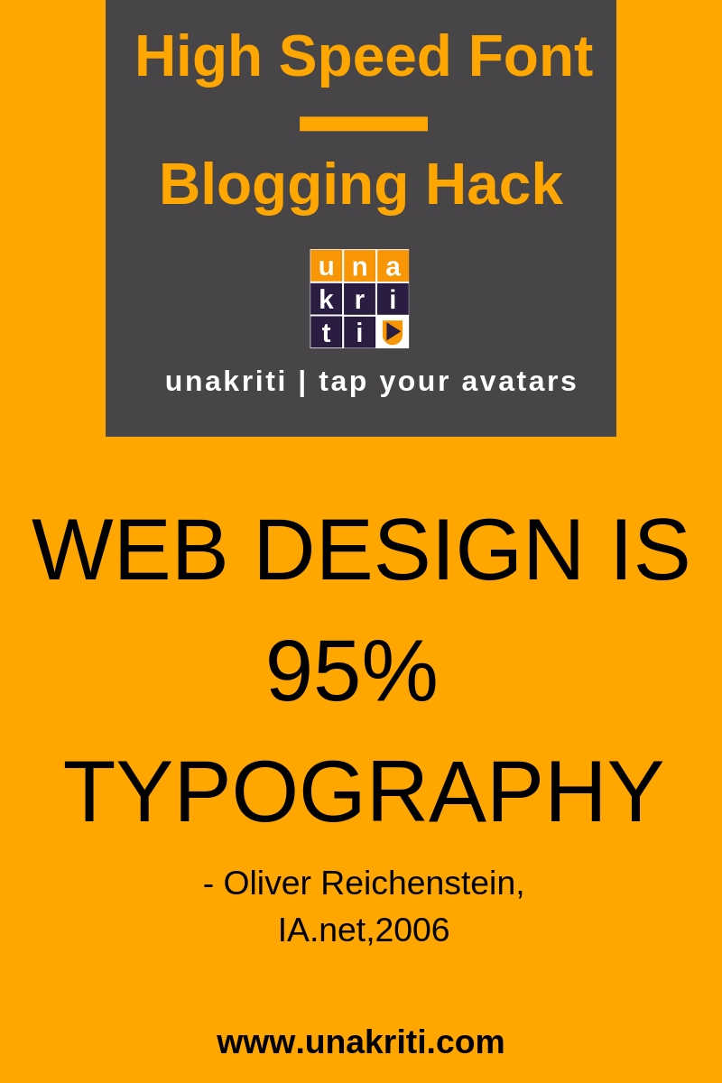 How fonts affect your website's performance?