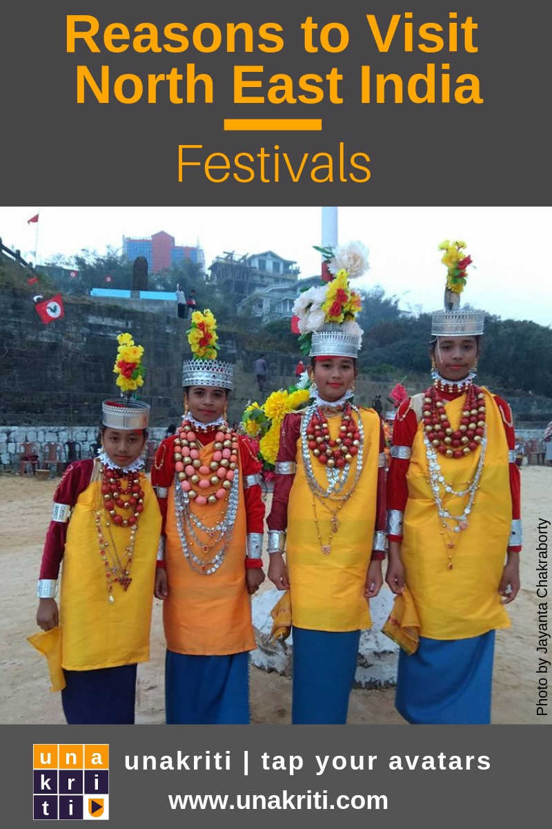 What are the must witness festivals of northeast India?