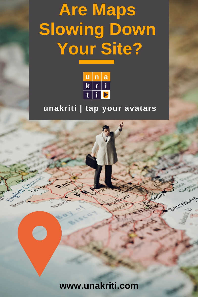 Why google maps are bad for your website?