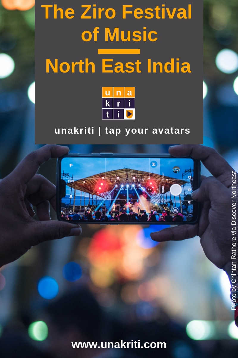 What are some travel tips and hacks for visitors to Ziro Music Festival in northeast India?