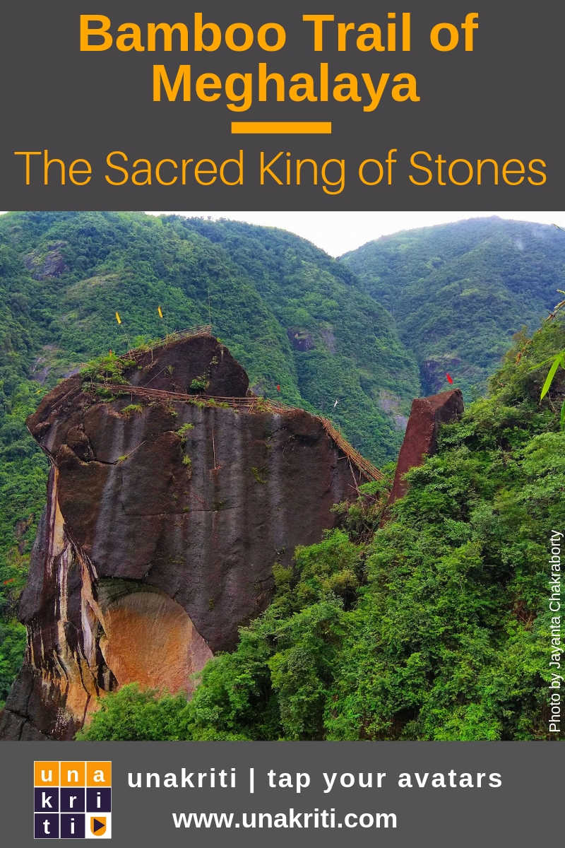 Who is the King of Stones in Meghalaya, northeast India?