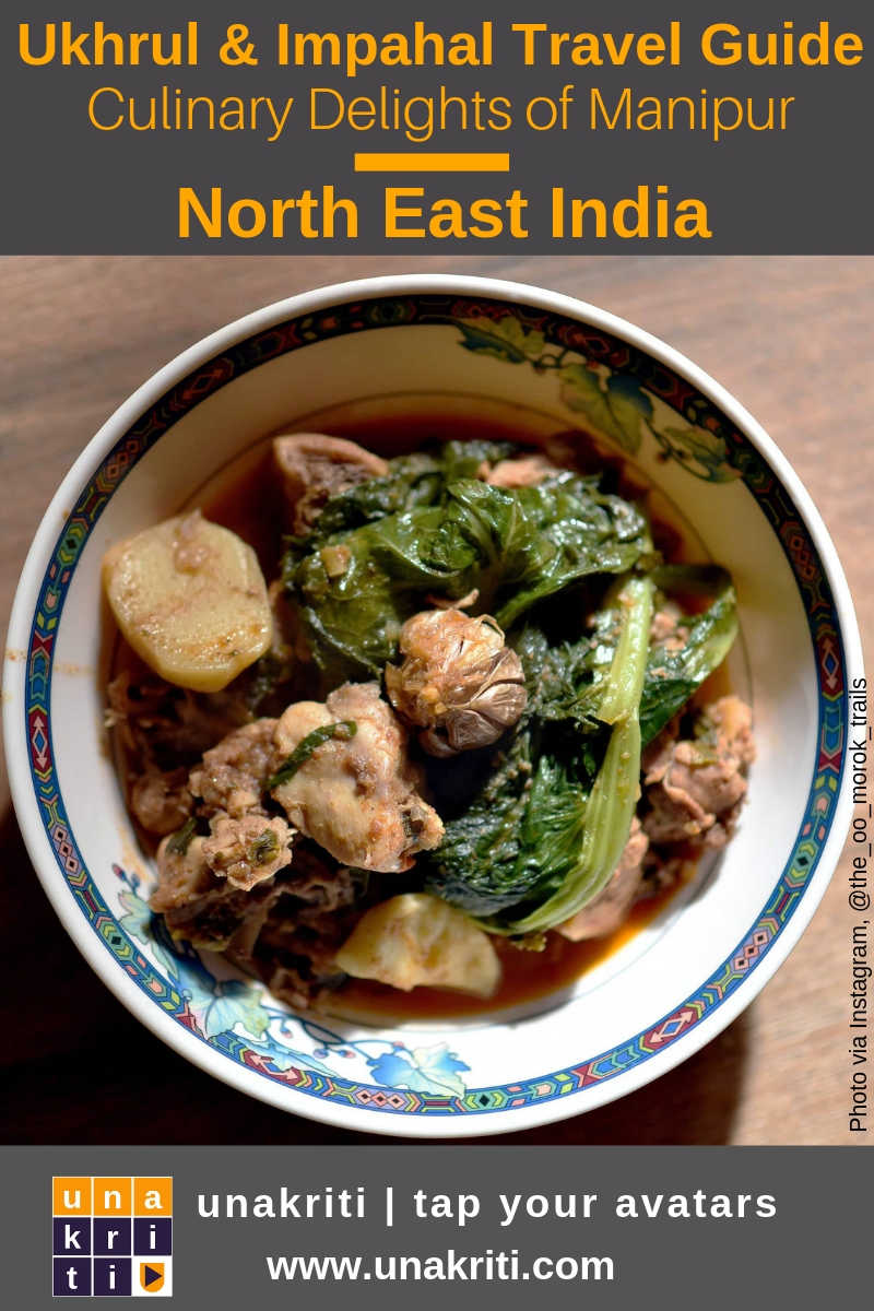 What's a must try Chicken delicacy in northeast India?
