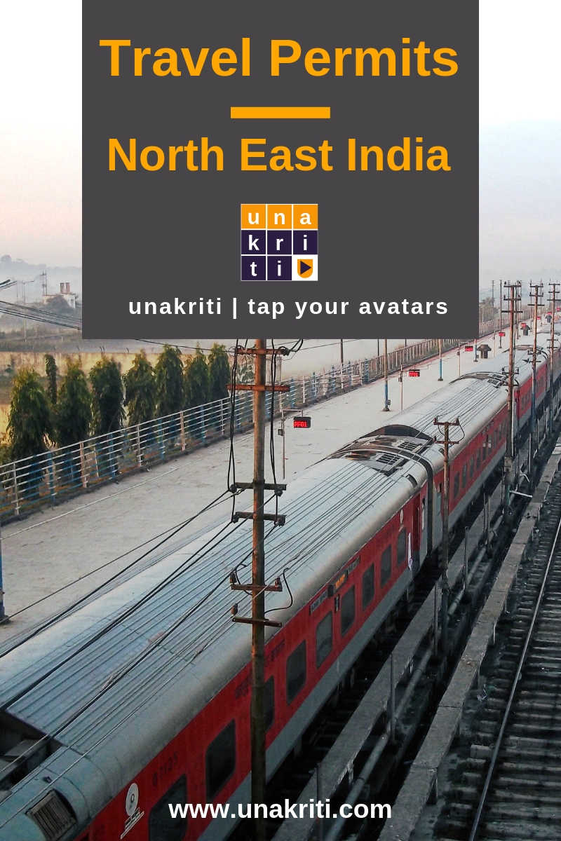 How many states in northeast India require travel permits and how to get these?